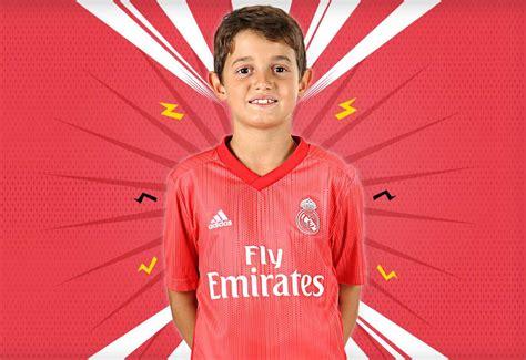 Tercera equipación Real Madrid niño. #futbolmania # ...