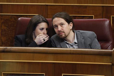 Termina la relación entre Pablo Iglesias e Irene Montero