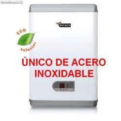 Termo eléctrico WESEN Inox Flat 50