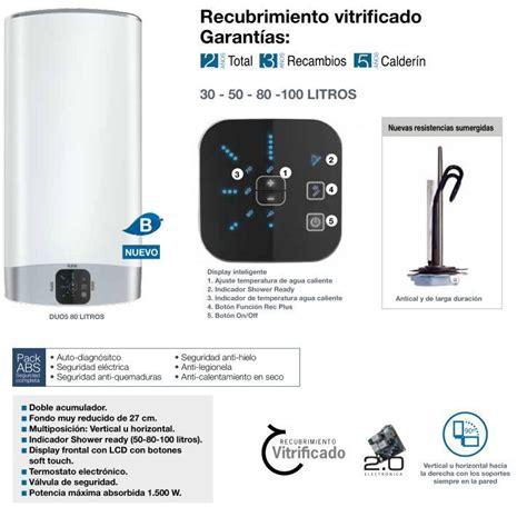 Termo Fleck Duo 5 50 Litros   www.paraelhogar.es