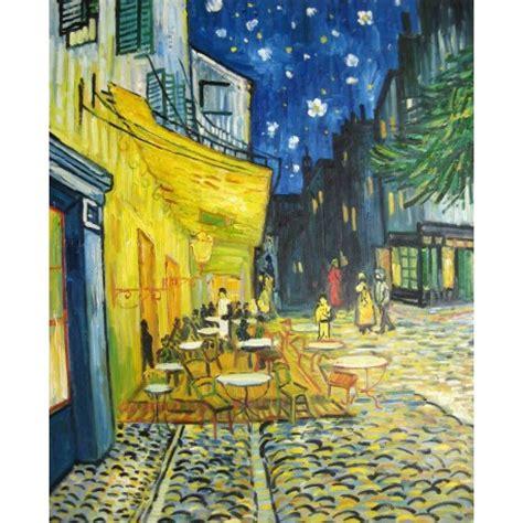 Terraza del café por la noche de Van Gogh | Artefamoso ...