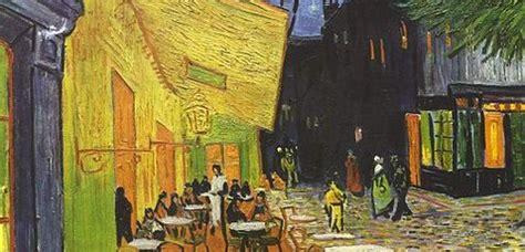 Terraza obra de Van Gogh Terraza de café por la noche o de ...