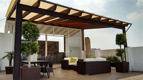 Terrazas TexturiForm   Diseño de terraza, Techo de patio y ...