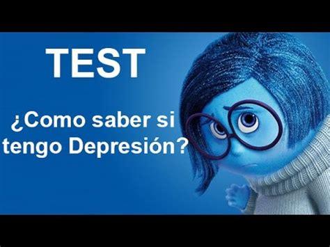 Test: ¿Cómo saber si tengo Depresión?   YouTube