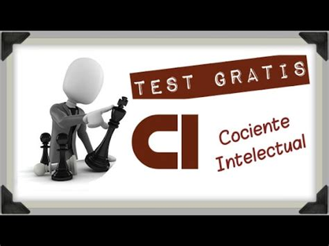 Test de CI  Cociente Intelectual  Gratis Online   YouTube