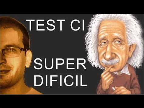 Test de Cociente Intelectual DIFICIL   @JoseCodFacilito ...