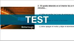 Test de conducir dgt gratis