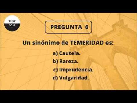 TEST DE CULTURA GENERAL 6  NIVEL BÁSICO    YouTube