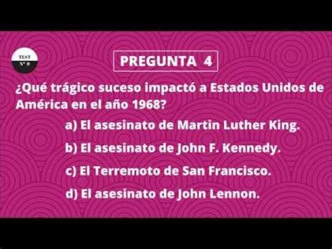 TEST DE CULTURA GENERAL 9  NIVEL BÁSICO    YouTube