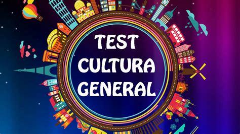 TEST De Cultura general  Capítulo 2    YouTube