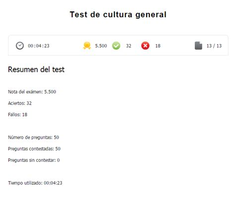 Test de cultura general nivel alto, solo gente PRO   Off ...