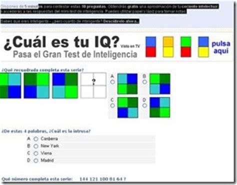 Test De Inteligencia 10 Preguntas   SEONegativo.com