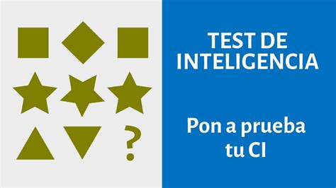 Test de inteligencia  CI    Agilidad mental NIVEL DIFÍCIL ...