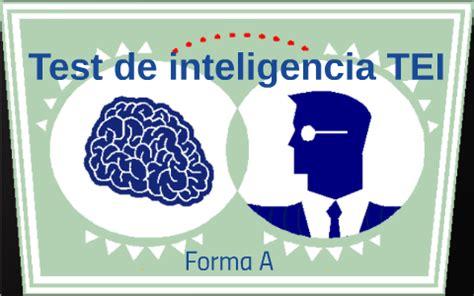 Test de inteligencia TEI by Dani Ela Bedoya on Prezi