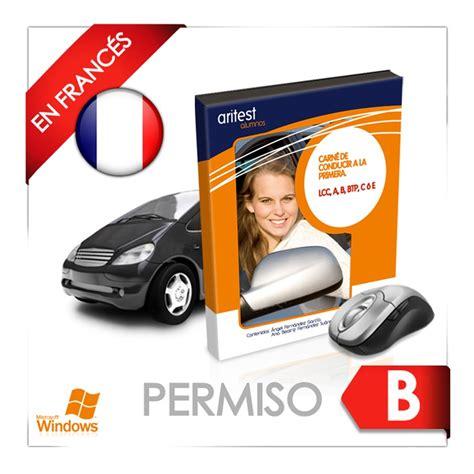 TEST DEL PERMISO B EN FRANCÉS