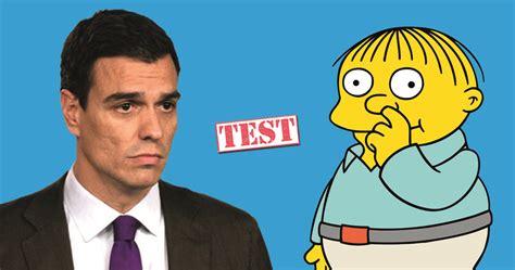 TEST: ¿Frase de Pedro Sánchez o de Ralph?