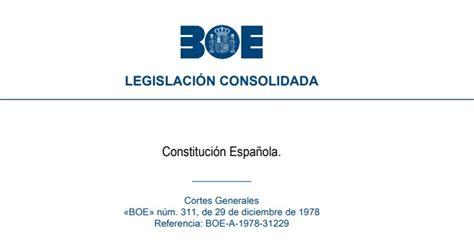 Test Gratis de la Constitución Española de 1978   Test de ...