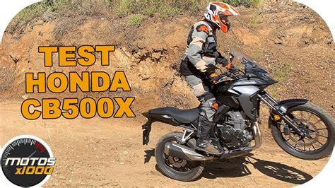 Test Honda CB500X  MY2019    Motosx1000   YouTube