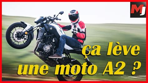 TEST MOTOS PERMIS A2   Peut on vraiment TOUT faire en MOTO ...