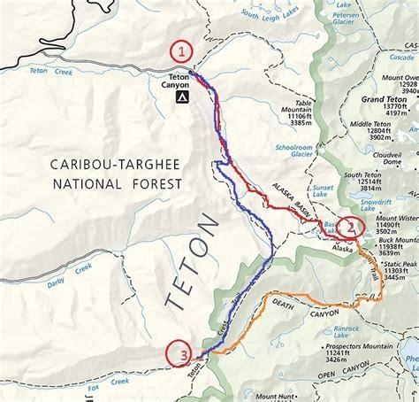 Teton Crest Trail Route suggestions Help a teacher out ...
