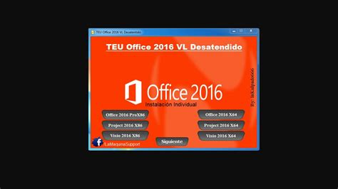 TEU Microsoft Office 2016 Portable En Español [Mega] [Full ...