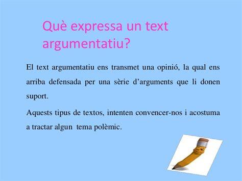 Text argumentatiu