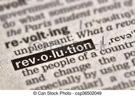 Texto de definición de palabra revolución. Palabra de ...