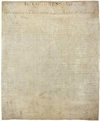 TEXTO: La Declaración de Independencia de los EE.UU.  1776 ...