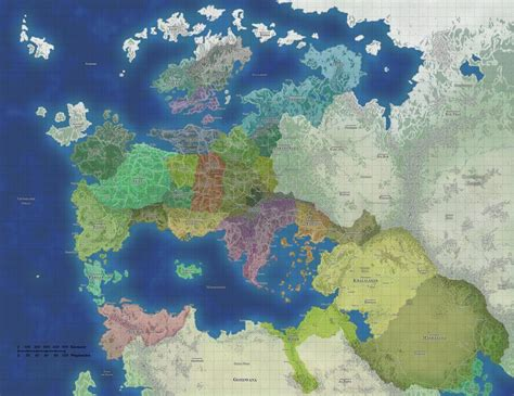 Thalia is the main continent of the fantasy world with the ...