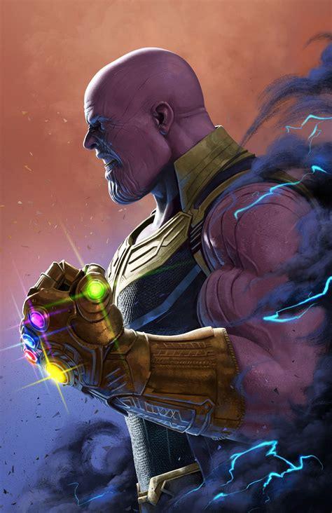 Thanos by Rob Brunette   Arte de marvel, Pelis marvel ...