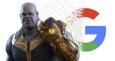 Thanos desaparece a Google.... ¡haz la prueba ...