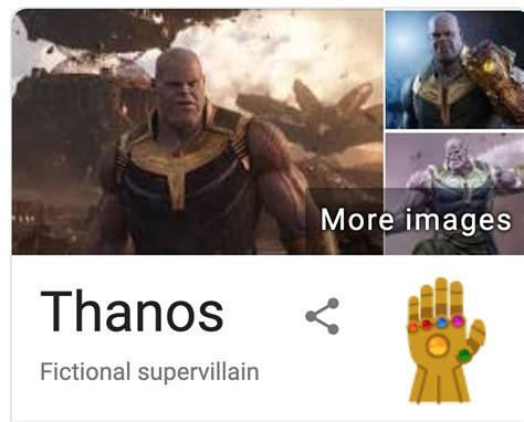 Thanos eliminó la mitad de los resultados en Google • ENTER.CO