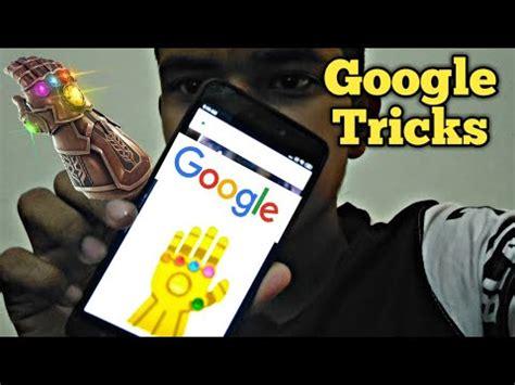 Thanos Infinity Snap Google Trick 2019   NEW   YouTube