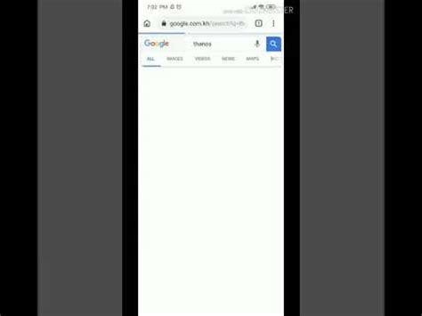 Thanos snap  Google  /it s REal    YouTube