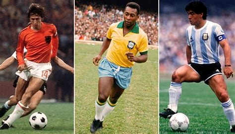 The 10 best soccer players of the 20th century ~ Football Zone