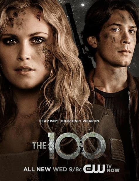 The 100   New Promotional Poster   7th May 2014