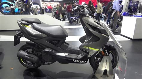 The 2020 YAMAHA AEROX scooter   ridetwice