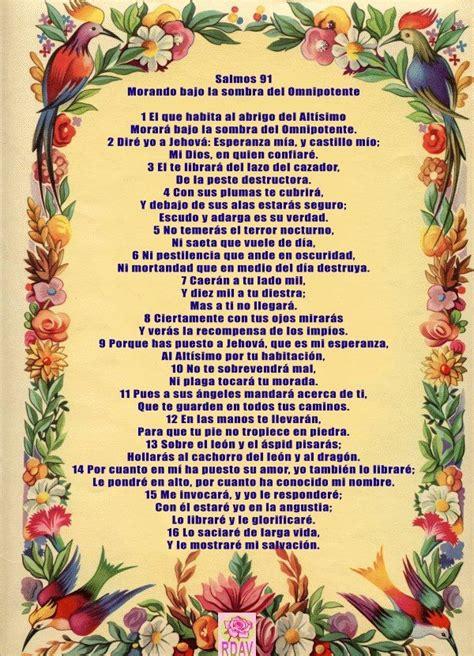 The 25+ best Oracion del salmo 91 ideas on Pinterest ...