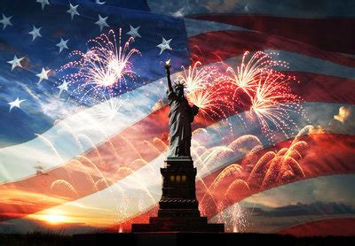 The 4th of July   the most patriotic event in the USA