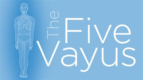 The 5 Prana Vayus Chart | Yoga International