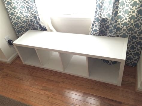 The Adorable Mess: DIY Ikea Kallax Storage Bench