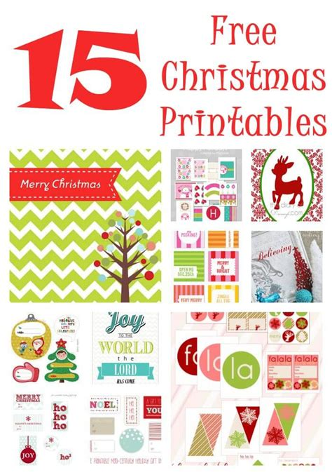 The Almost Perfectionist: Christmas Printables