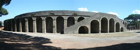 The Amphitheater of Pompeii. What would have happened here ...
