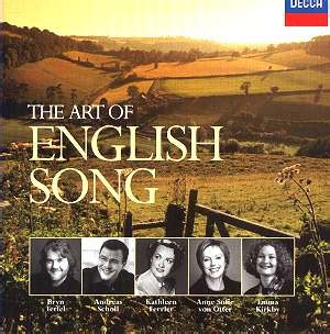 The Art of English Song 4765296 [GPJ]: Classical CD ...