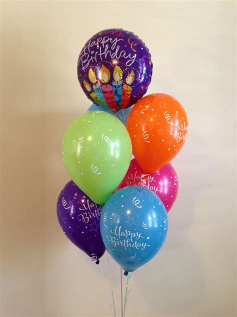 The Balloon Shop   Classic Birthday Balloon Bouquet