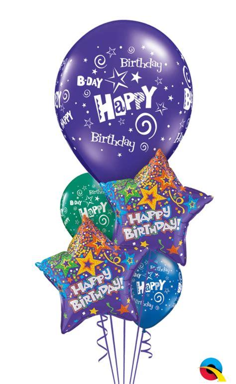 The Balloon Shop   Starry Birthday Balloon Bouquet