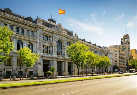 The Bank Of Spain  Banco De Espana  On Calle De Alcala In ...