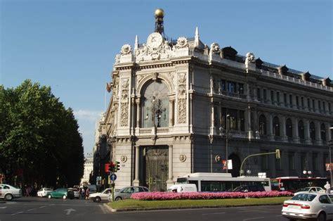 The Bank of Spain in Madrid   Curiosities in Spain