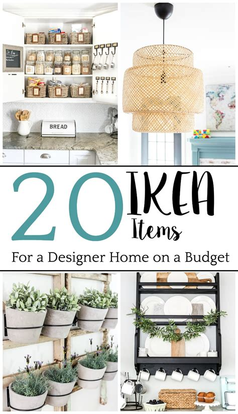 The Best IKEA Items for a Stylish Home on a Budget   Bless ...