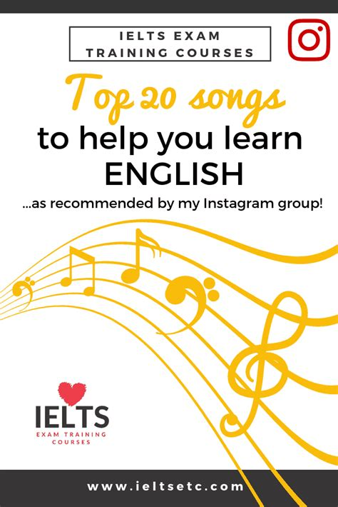 The best songs to help you learn English   IELTS with Fiona